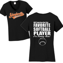 Load image into Gallery viewer, Schuylerville Baseball/Softball Favorite Player Tee- Ladies & Men's