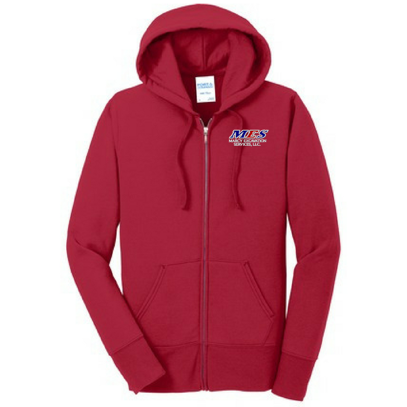 Rifenburg Companies Full-Zip Hoodie- Ladies, 3 Colors