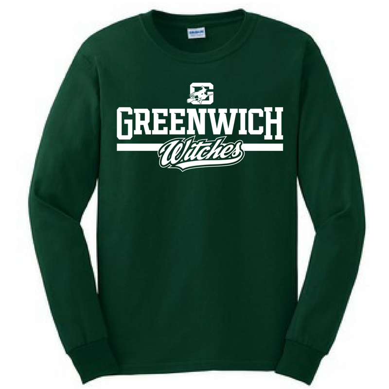 Greenwich Long Sleeve Shirt- Youth & Adult, 3 Colors