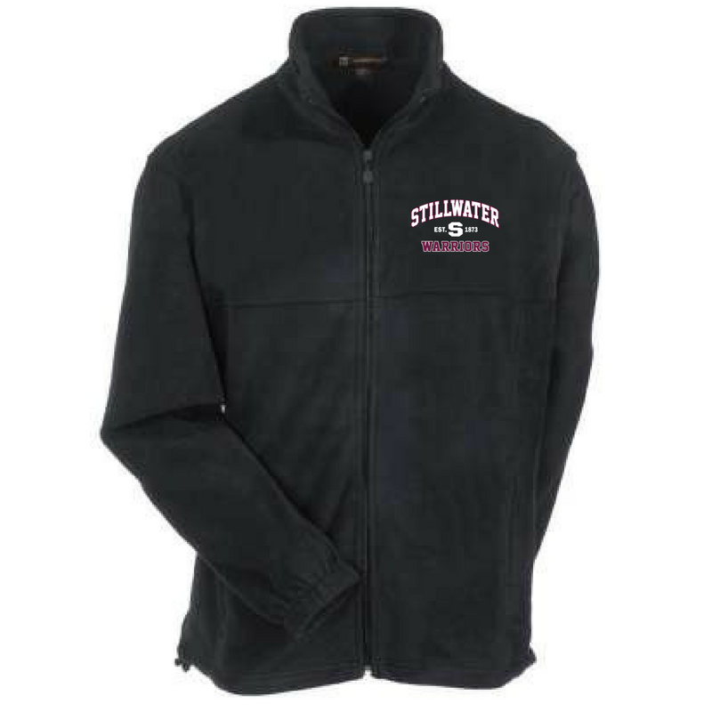 Stillwater Warriors Full Zip Fleece (Men's, Ladies' & Youth)