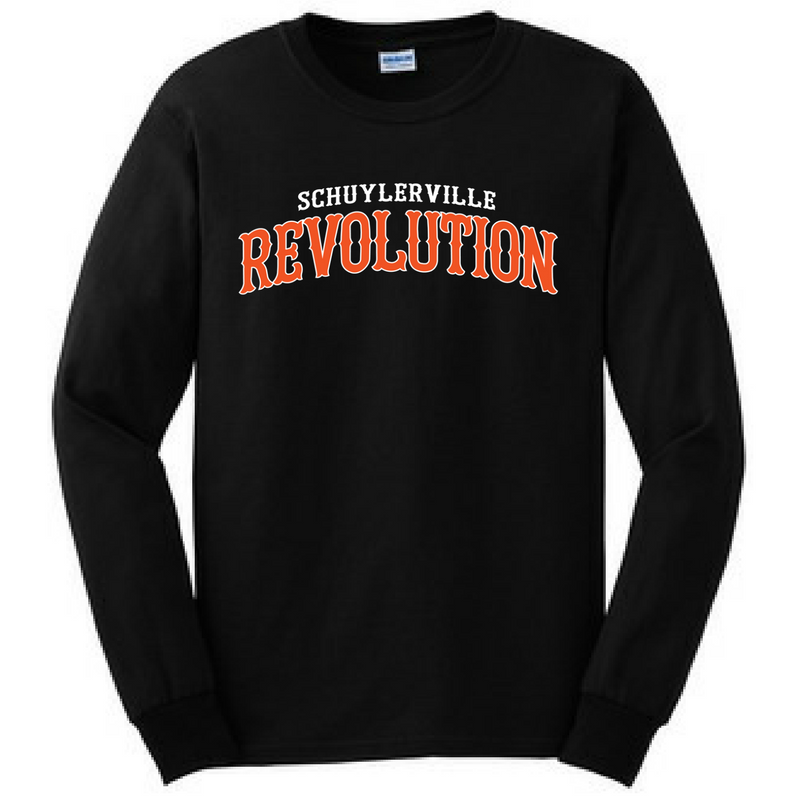 Schuylerville Revolution Long Sleeve Shirt- Youth & Adult, 2 Colors