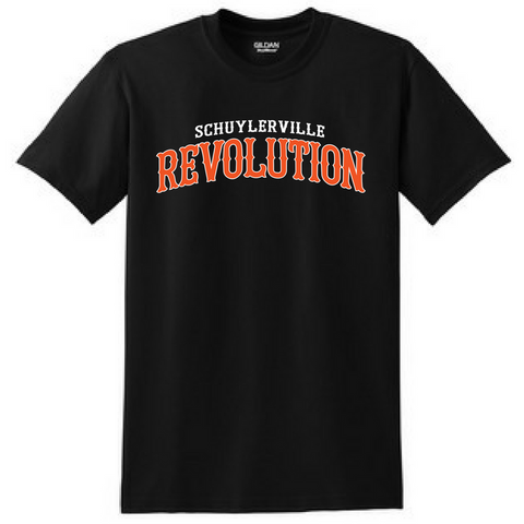 Schuylerville Revolution Tee- Youth & Adult, 2 Colors