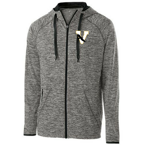 Voorhesville Two-Tone Heather Full Zip- Ladies & Men's, 2 Colors