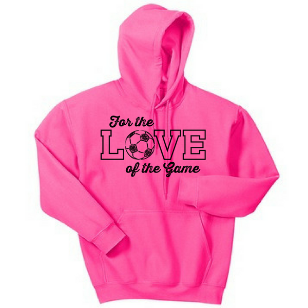 Love of the Game Hoodie- Adult & Youth, 4 Colors, 3 Sports