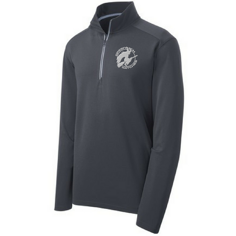 Greenwich Witches 1/4 Zip Textured Pullover- Ladies & Men's