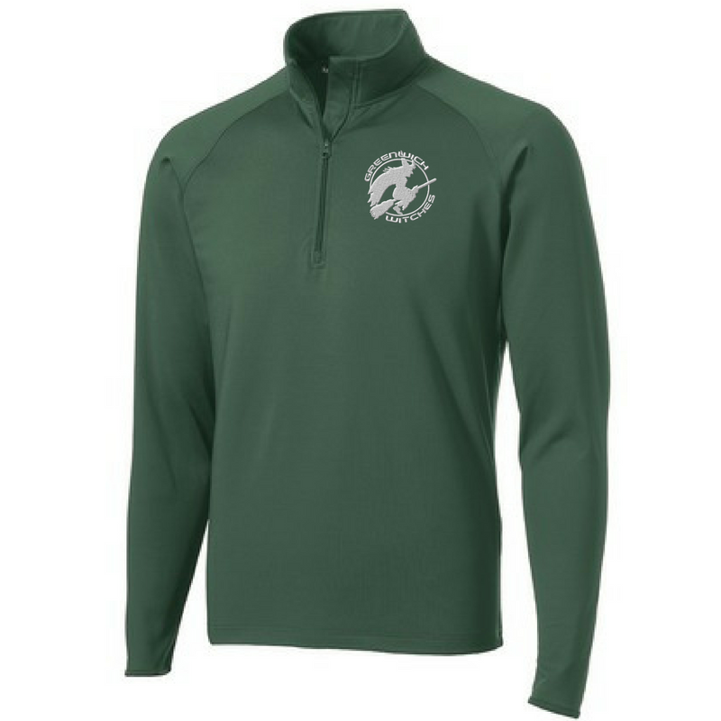 Greenwich Witches 1/4 Zip Performance Pullover - Ladies & Men's