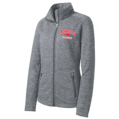 Mechanicville Red Raiders Digi Stripe Fleece Jacket (Men's & Ladies)