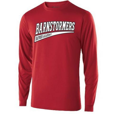 Barnstormers Long Sleeve Performance Shirt- Youth & Adult