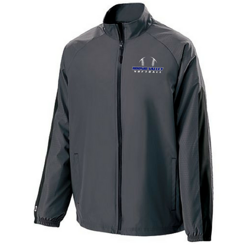 Hoosic Valley Softball Light-Weight Full Zip Jacket- Youth, Ladies, & Men's, 2 Colors