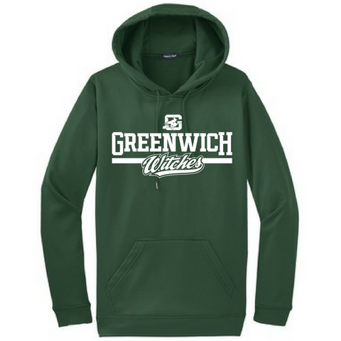 Greenwich Witches Performance Hoodie