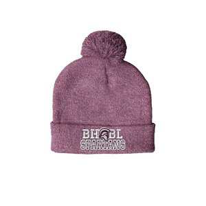 CLEARANCE- Pom Pom Beanie (Choose your school logo!)