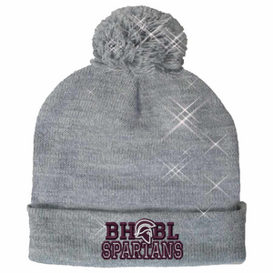 CLEARANCE- Sparkle Beanie (Choose your school logo!)