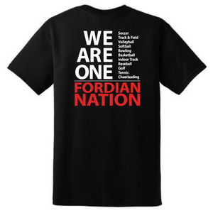 "Waterford-Halfmoon Fordians ""We Are One"" Cotton Tee- Youth & Adult, 2 Colors"