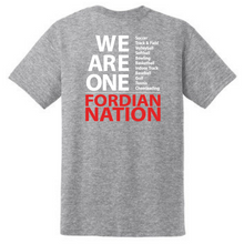 "Load image into Gallery viewer, Waterford-Halfmoon Fordians ""We Are One"" Cotton Tee- Youth & Adult, 2 Colors"