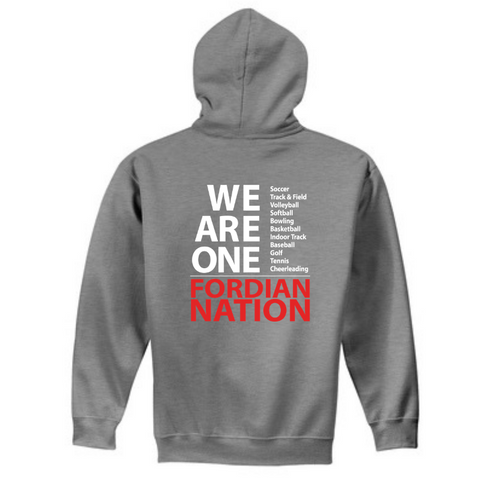 "Waterford-Halfmoon Fordians ""We Are One"" Hoodie- Youth & Adult, 2 Colors"