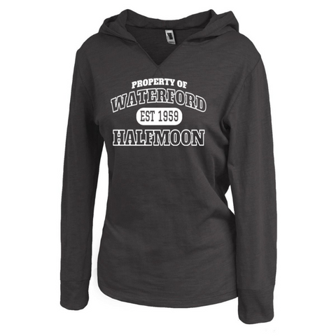 Waterford-Halfmoon Fordians Ladies Lightweight Hooded Long Sleeve- 2 Colors