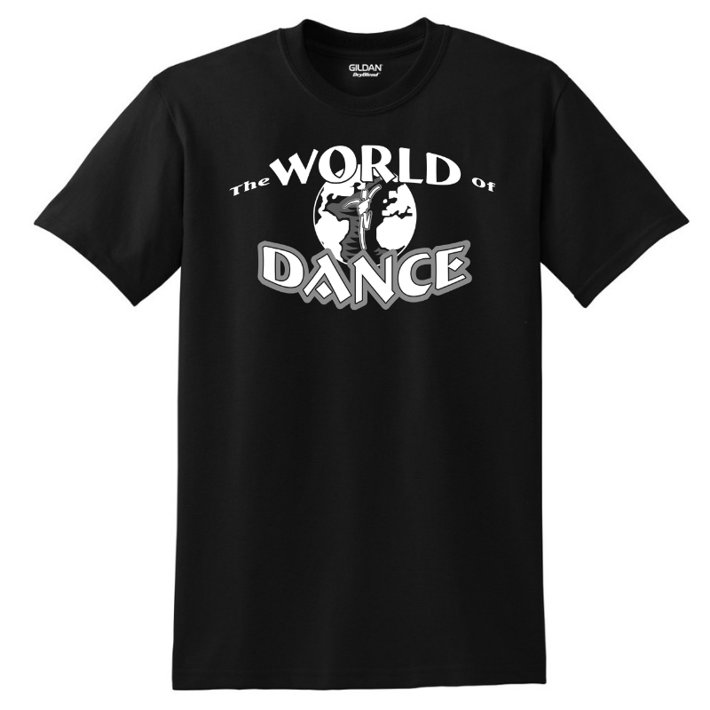 World of Dance #dancefordan Cotton Tee- Youth & Adult, 2 Colors