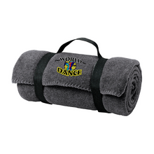 Load image into Gallery viewer, World of Dance Fleece Blanket- 3 Colors