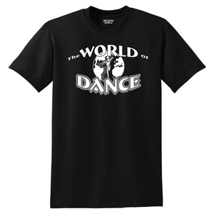 World of Dance Cotton Tee- Youth & Adult, 4 Colors