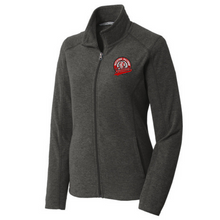 Load image into Gallery viewer, Waterford-Halfmoon Fordians Heathered Full Zip MicroFleece- Ladies & Men's, 2 Colors