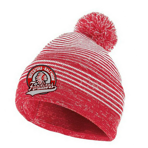 Waterford-Halfmoon Fordians Pom Pom Beanie- 3 Colors