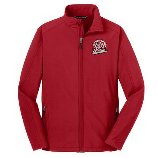 Waterford-Halfmoon Fordians Soft Shell Jacket- Youth, Ladies & Men's, 3 Colors