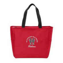 Load image into Gallery viewer, Waterford-Halfmoon Fordians Zipper-Top Tote Bag- 3 Colors