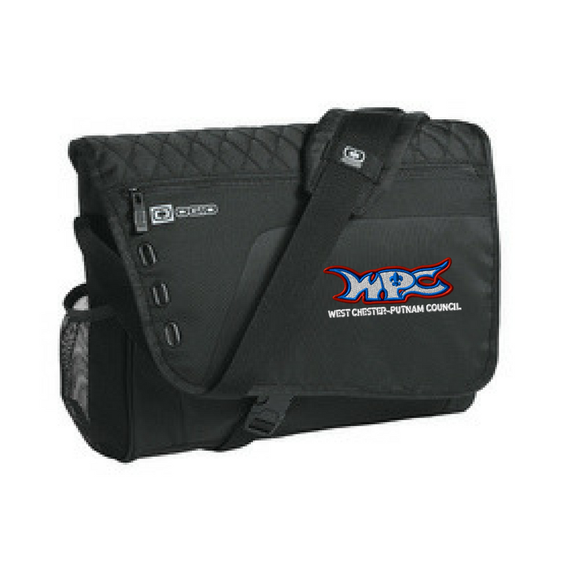 WPC Laptop Messenger Bag- 3 Colors