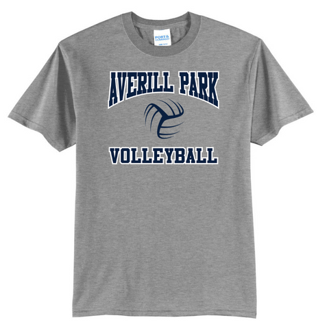 Averill Park Volleyball Cotton Tee- Youth & Adult