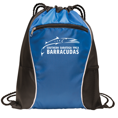 Barracudas Swim Team Drawstring Bag