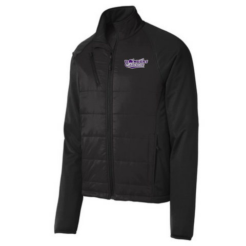 Bombers Lacrosse Hybrid Soft Shell Jacket- Ladies & Men's, 2 Colors