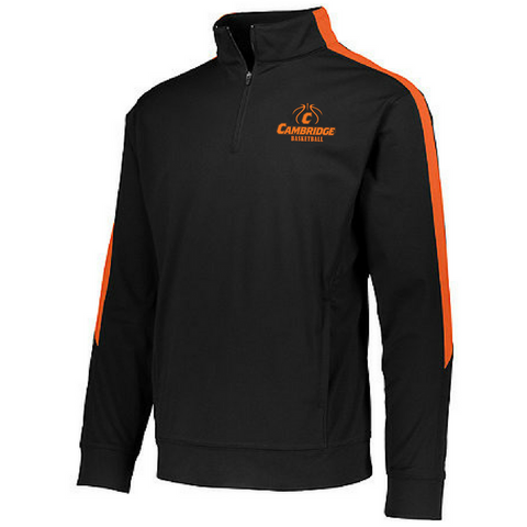 Cambridge Basketball Performance 1/4 Zip- Youth, Ladies, & Men's, 3 Colors