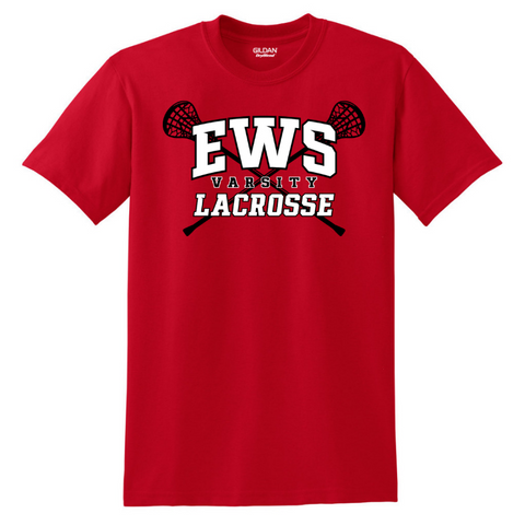 Emma Willard Lacrosse Cotton Tee- Youth & Adult, 3 Colors