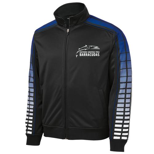 Barracudas Swim Team Full Zip Warm Up Jacket
