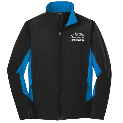 Barracudas Swim Team Full Zip Soft Shell Jacket