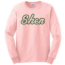 Load image into Gallery viewer, Shen Plainsmen Long Sleeve Tee- Youth & Adult, 3 Colors