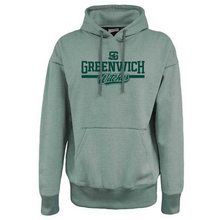 Load image into Gallery viewer, Greenwich Old School Fleece Hoodie- 2 Colors