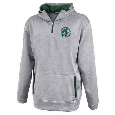 Greenwich Hooded 1/4 Zip Performance Pullover