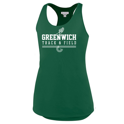 Greenwich Track & Field Ladies Performance Tank- 3 Colors