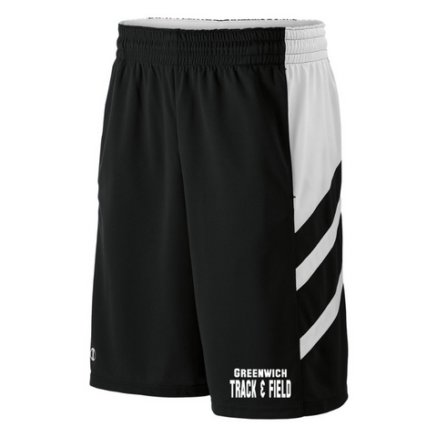 Greenwich Track & Field Performance Shorts- Youth & Adult, 3 Colors