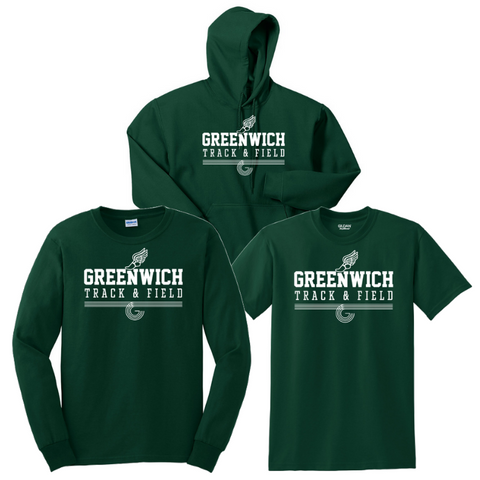 Greenwich Track & Field Cotton Bundle- Youth & Adult, 4 Colors