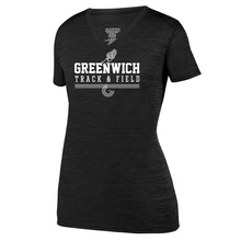 Load image into Gallery viewer, Greenwich Track & Field Tonal Heather Performance Tee- Youth, Ladies & Men's, 2 Colors