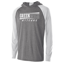 Load image into Gallery viewer, Greenwich Hooded Long Sleeve Performance Shirt- Youth, Ladies & Men's, 2 Colors