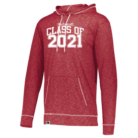 Mechanicville Class of 2021 Lightweight Hooded Long Sleeve- Ladies & Men's, 2 Colors