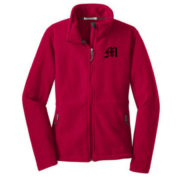 Mechanicville Baseball Full Zip Fleece- Youth, Ladies, & Men's, 3 Colors