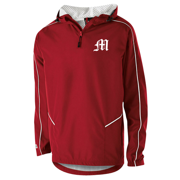 Mechanicville Baseball Hooded 1/4 Zip Pullover- Youth & Adult, 3 Colors