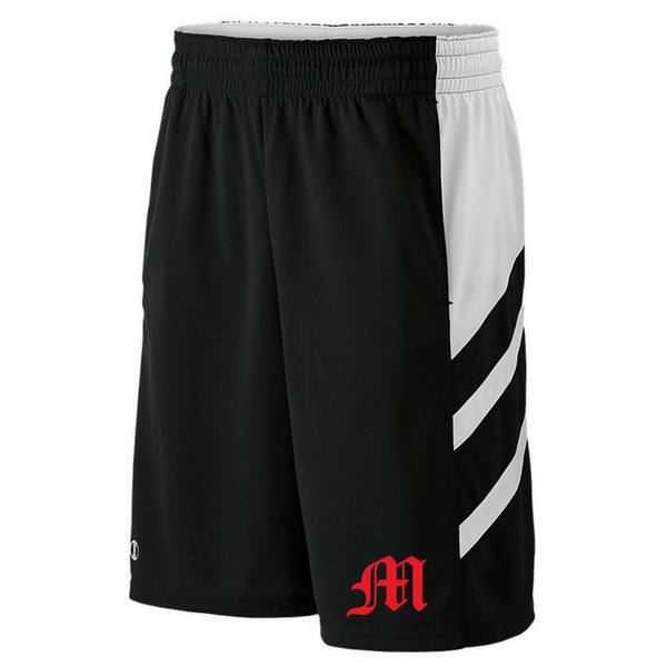 Mechanicville Baseball Two-Tone Shorts- Youth & Adult, 3 Colors