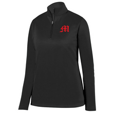 Load image into Gallery viewer, Mechanicville Baseball 1/4 Zip Performance Pullover- Youth, Ladies & Men's, 3 Colors