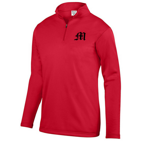 Mechanicville Baseball 1/4 Zip Performance Pullover- Youth, Ladies & Men's, 3 Colors