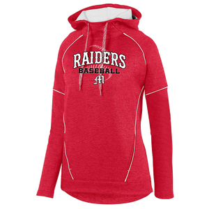 Mechanicville Baseball Tonal Heather Performance Hoodie- Youth, Ladies, & Men's, 3 Colors